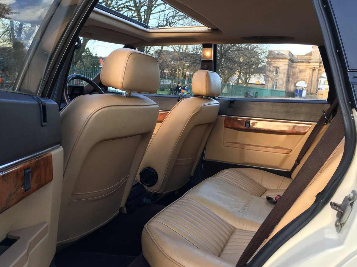 1985 Rover SD1 3500 V8 Vanden Plas Manual - 66,984 MILES For Sale (picture 5 of 6)