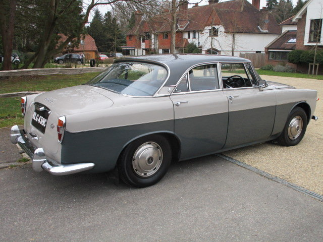 1965 Rover P5 3 Litre Coupe (Card Payments Accepted) For Sale (picture 3 of 6)
