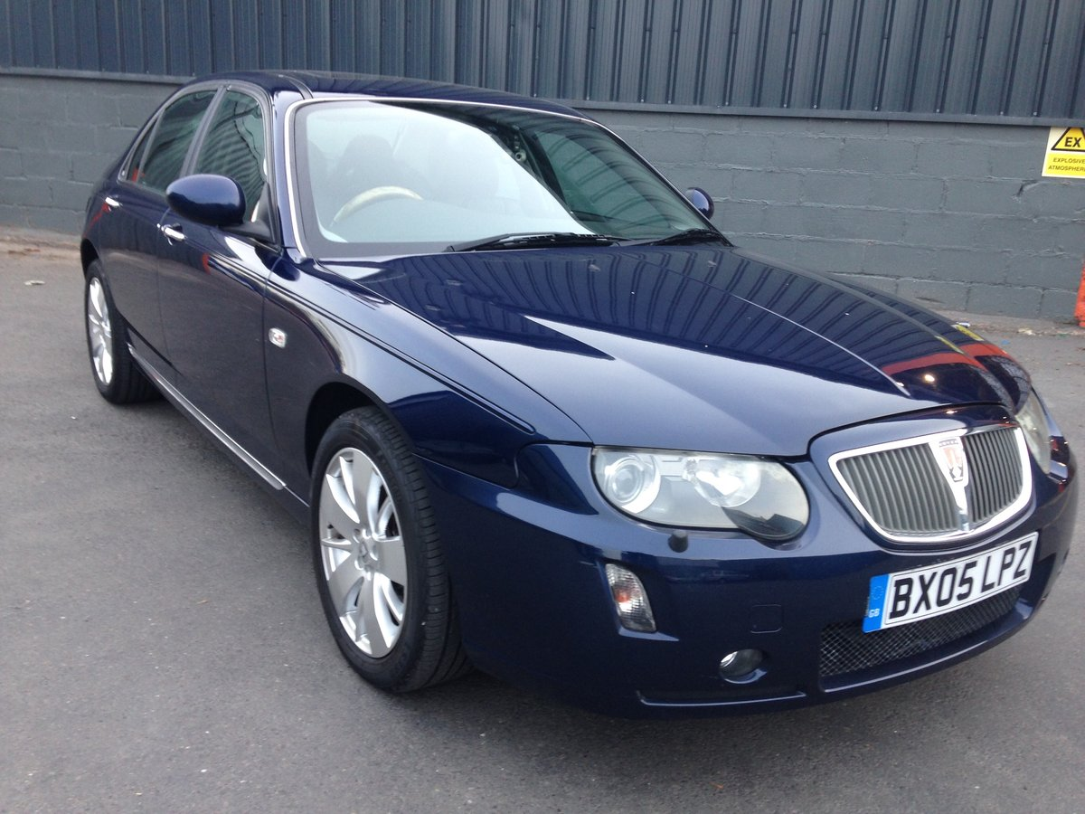 2005 ROVER 75 1.8t CONTEMPORARY SE 21000 miles GENUINE  For Sale (picture 1 of 6)