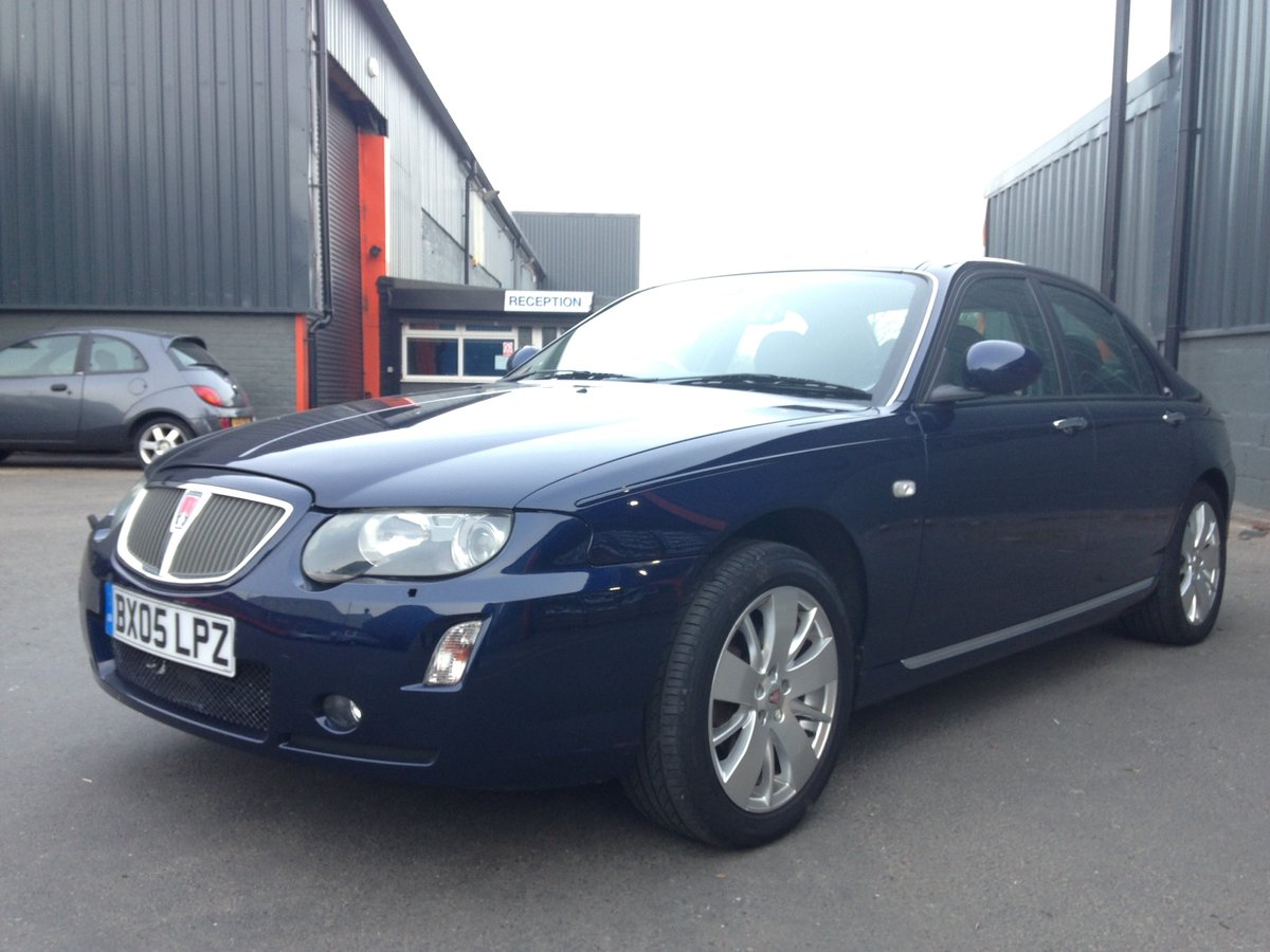 2005 ROVER 75 1.8t CONTEMPORARY SE 21000 miles GENUINE  For Sale (picture 2 of 6)