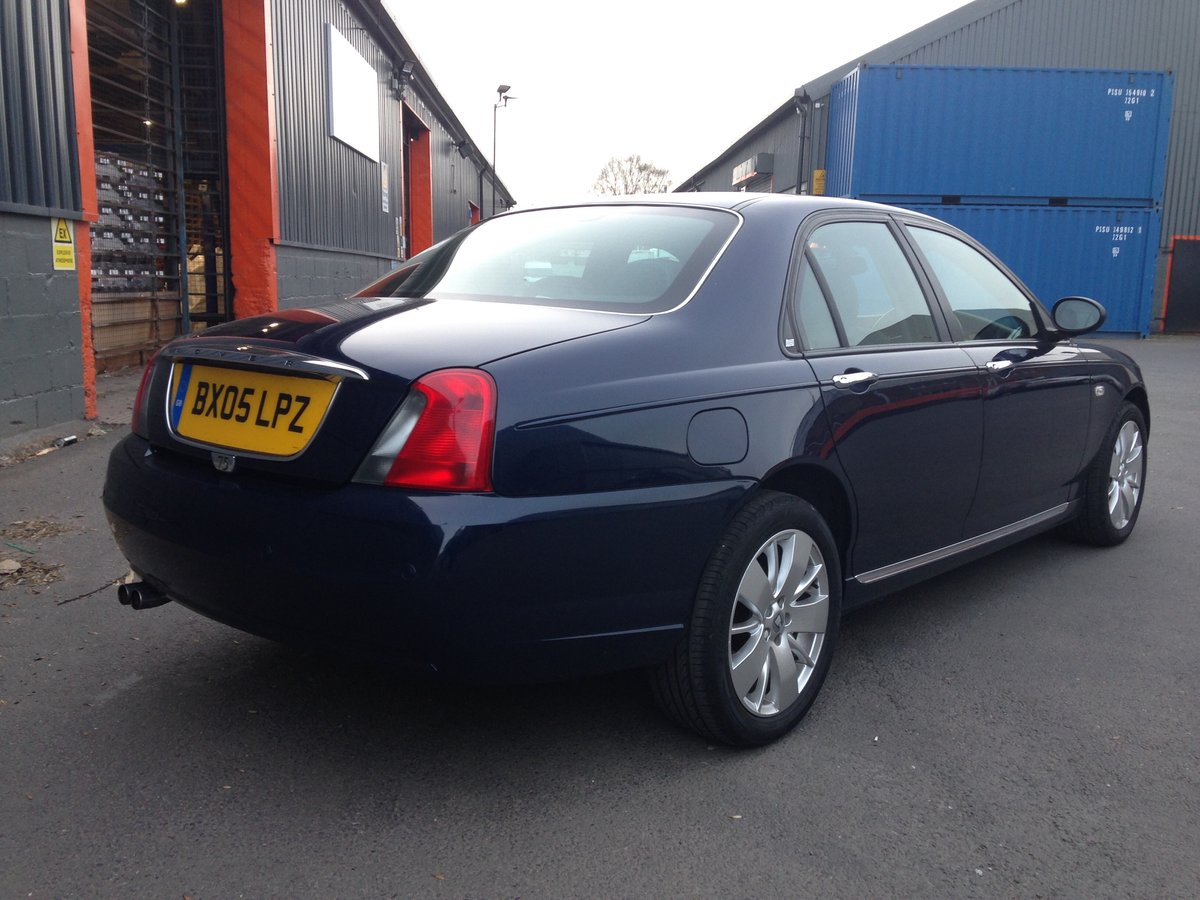 2005 ROVER 75 1.8t CONTEMPORARY SE 21000 miles GENUINE  For Sale (picture 3 of 6)