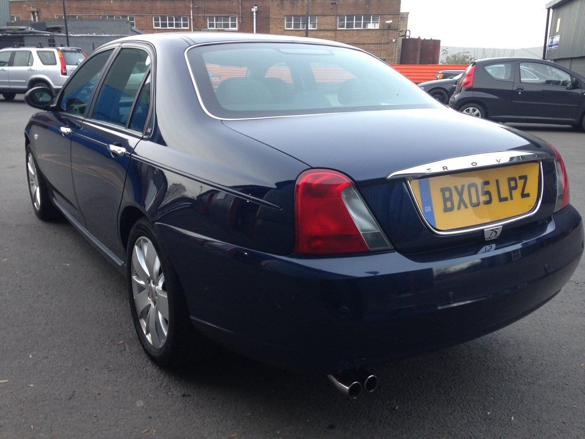 2005 ROVER 75 1.8t CONTEMPORARY SE 21000 miles GENUINE  For Sale (picture 4 of 6)