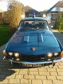1973 Metropolitan Police 3500 P6 3500 V8 Auto