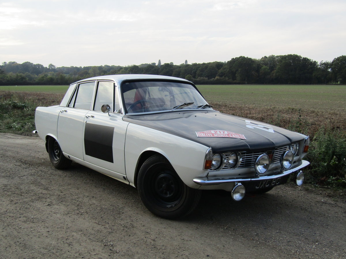 1966 Rover 2000 P6 'Ex-Works' car. For Sale (picture 1 of 2)