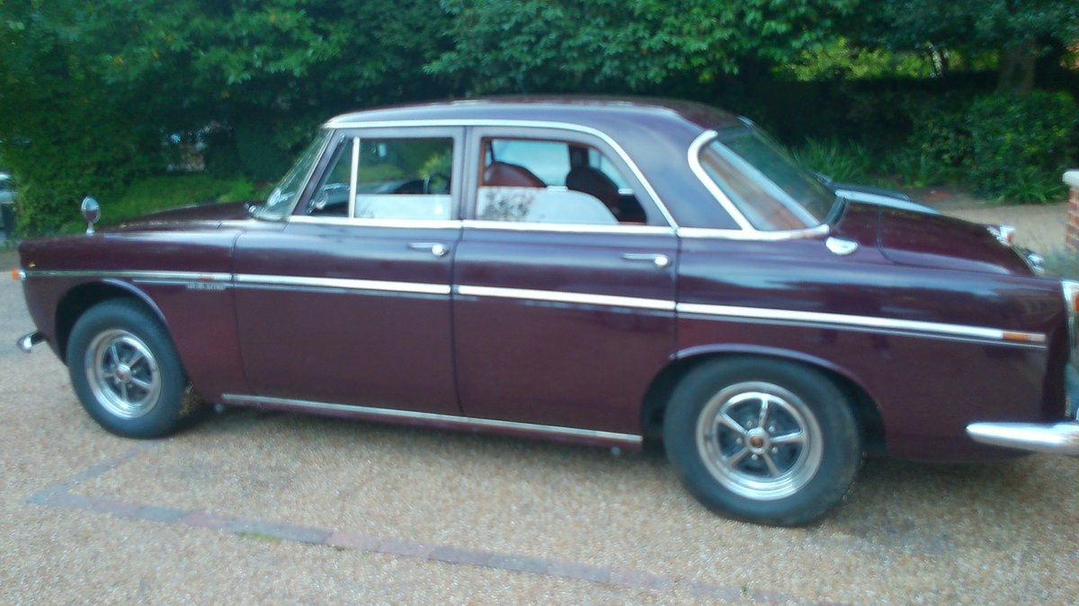 1968 Rover p5b Saloon 3.5 Litre Automatic - NOW SOLD For Sale (picture 2 of 6)