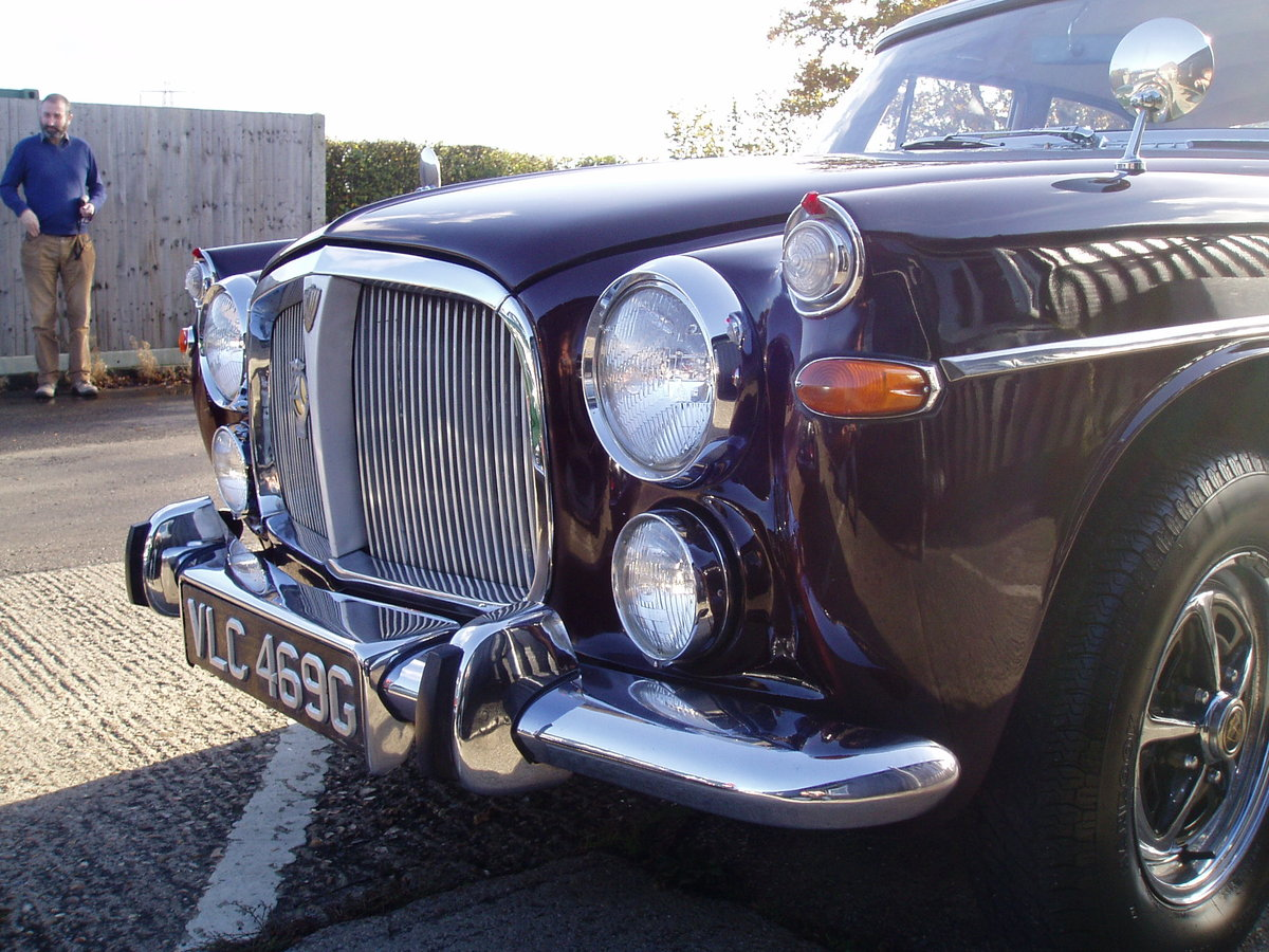1968 Rover p5b Saloon 3.5 Litre Automatic - NOW SOLD For Sale (picture 6 of 6)