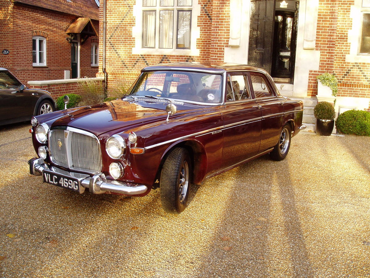 1968 Rover p5b Saloon 3.5 Litre Automatic - NOW SOLD For Sale (picture 1 of 6)