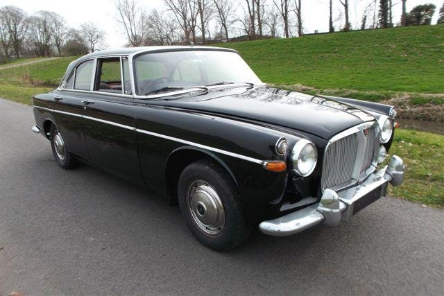1966 Rover P5 3 liter Mark III Coupé Automatic For Sale (picture 1 of 6)
