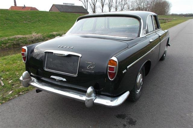1966 Rover P5 3 liter Mark III Coupé Automatic For Sale (picture 4 of 6)