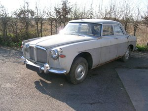 1960 Rover P5 3 Litre Mark 1 Historic Restoration Project For Sale