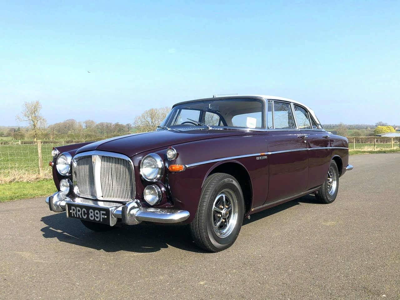 1968 Rover 3.5 V8 P5B Coupe Automatic SOLD (picture 1 of 6)