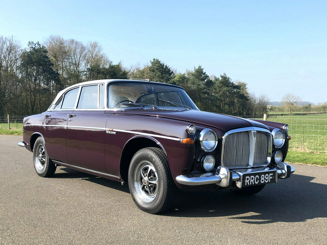 1968 Rover 3.5 V8 P5B Coupe Automatic SOLD (picture 3 of 6)