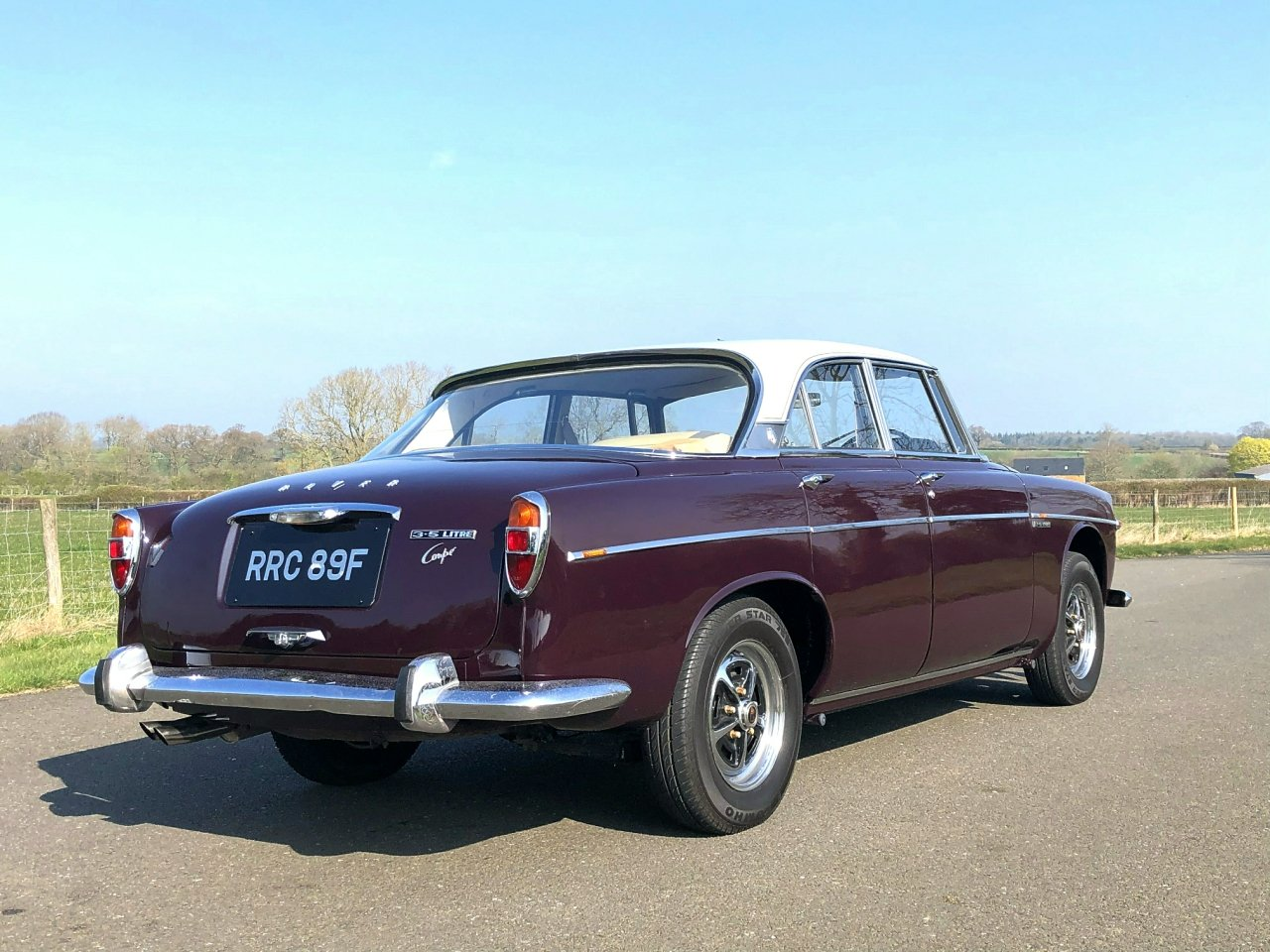 1968 Rover 3.5 V8 P5B Coupe Automatic SOLD (picture 4 of 6)
