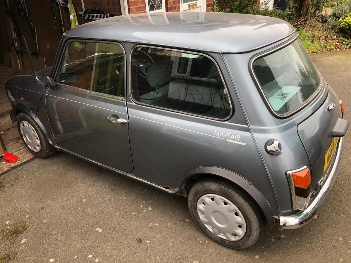 1993 Rover Mini Mayfair 1275 Manual For Sale (picture 1 of 6)
