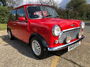 1998 Rover Mini 1275 MPi. Flame Red. 2 Owners. 51k. FSH For Sale