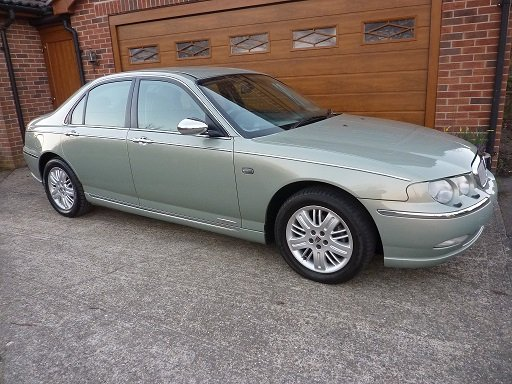 2001 ROVER 75  Connoisseur SE Diesel  One Lady Owner.  SOLD (picture 1 of 6)