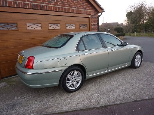 2001 ROVER 75  Connoisseur SE Diesel  One Lady Owner.  SOLD (picture 2 of 6)