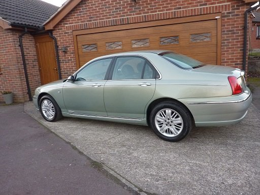 2001 ROVER 75  Connoisseur SE Diesel  One Lady Owner.  SOLD (picture 3 of 6)