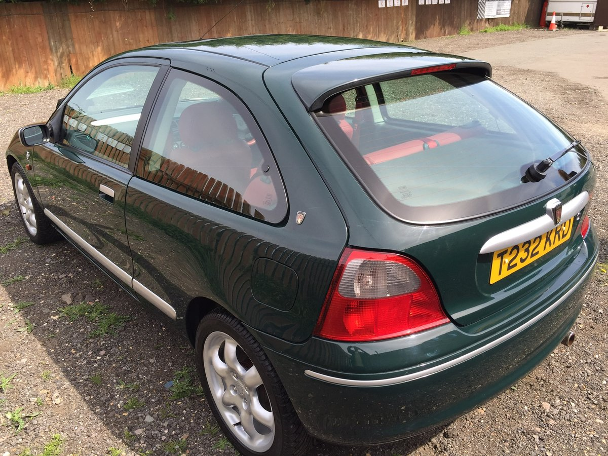 1999 Rover 200 BRM 27k For Sale (picture 1 of 6)