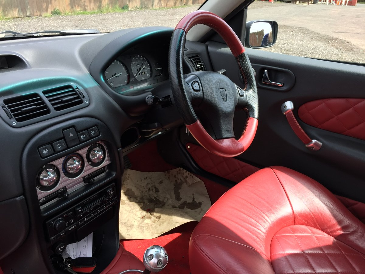 1999 Rover 200 BRM 27k For Sale (picture 4 of 6)