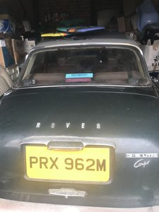 1973 Arden Green stored 2005 - and saloon spares in the