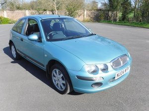 **APRIL AUCTION**2004 Rover 25 3Dr **LOW MILEAGE** SOLD by Auction