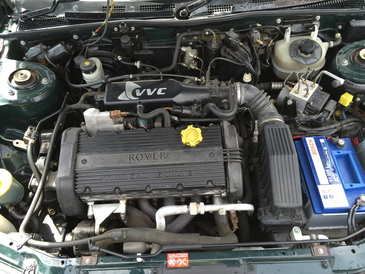 1999 Rover 200 BRM 27k For Sale (picture 5 of 6)