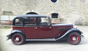 ROVER P2 14HP SALOON 1936  SOLD