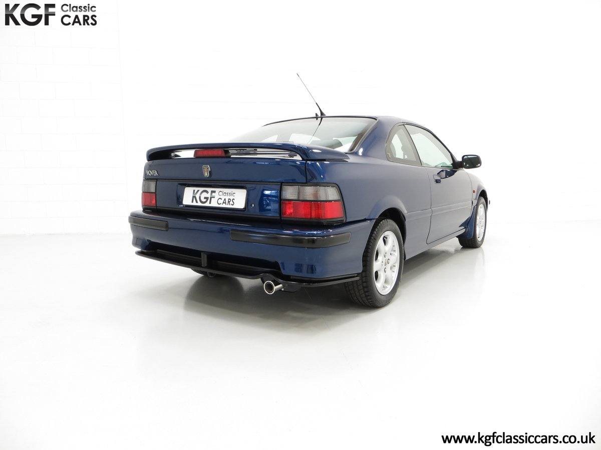 1995 The Holy Grail of all FDH Rover 220 Turbo Tomcat Coupe's SOLD (picture 5 of 6)