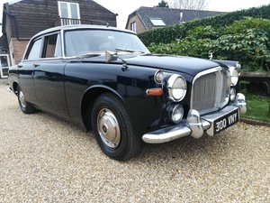 1963 Rover P5 3000 Saloon - Reg 300 VNY - Film Star -Mot 2020 SOLD
