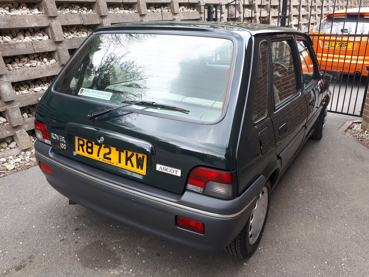 1997 ROVER 100 METRO VERY LOW MILEAGE For Sale (picture 1 of 6)