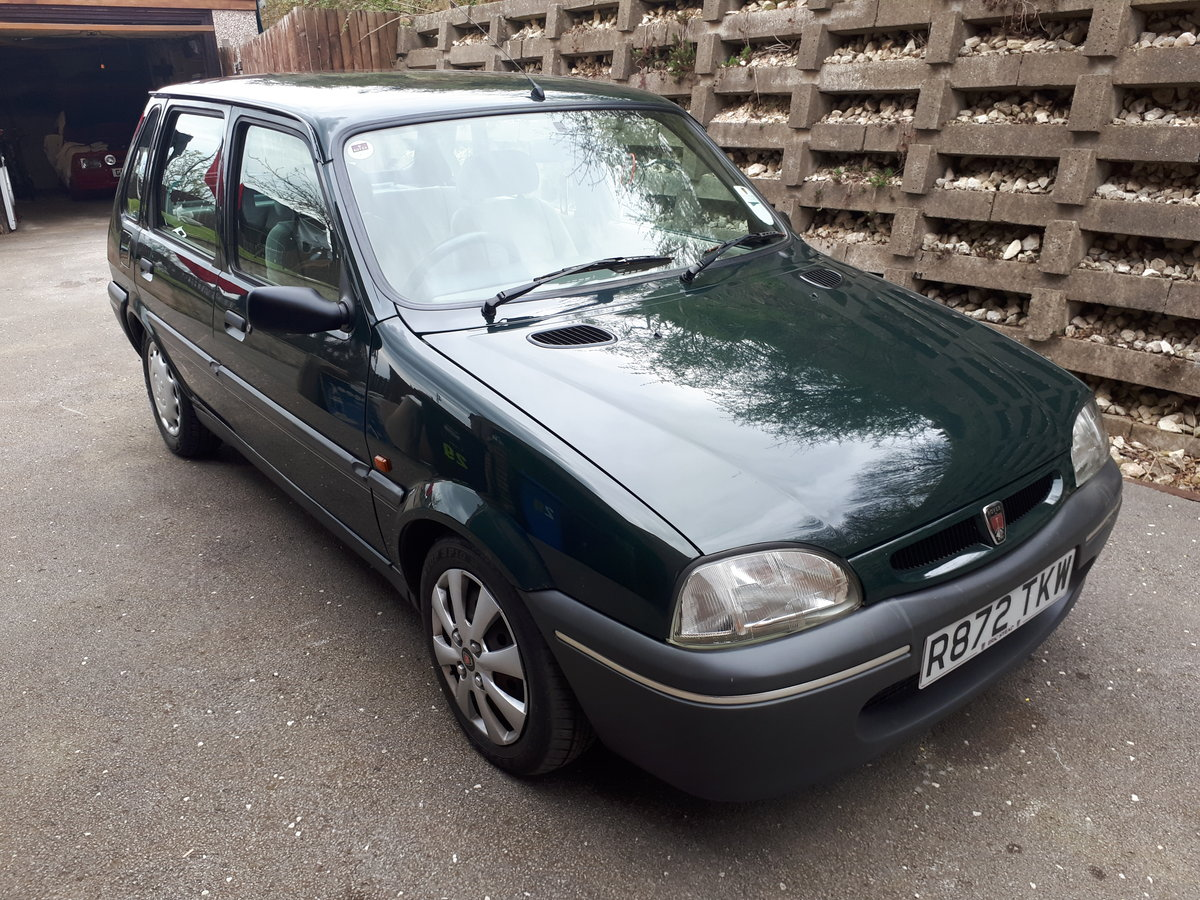 1997 ROVER 100 METRO VERY LOW MILEAGE For Sale (picture 2 of 6)