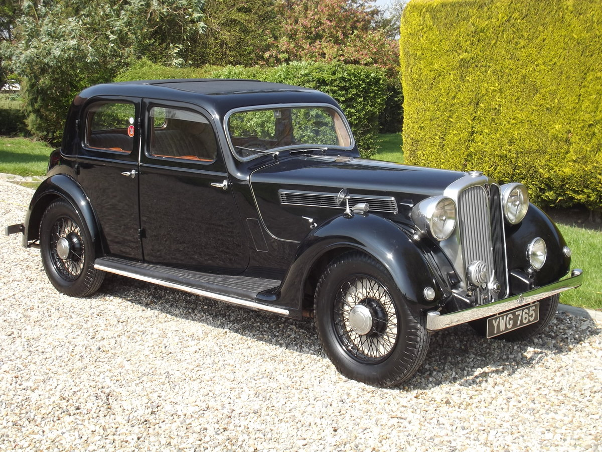1937 Rover P2 12HP Sports Saloon For Sale (picture 1 of 6)