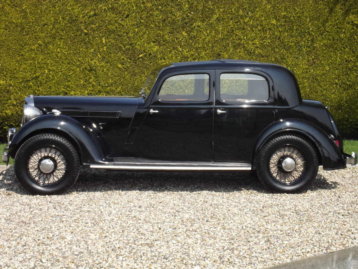 1937 Rover P2 12HP Sports Saloon For Sale (picture 2 of 6)