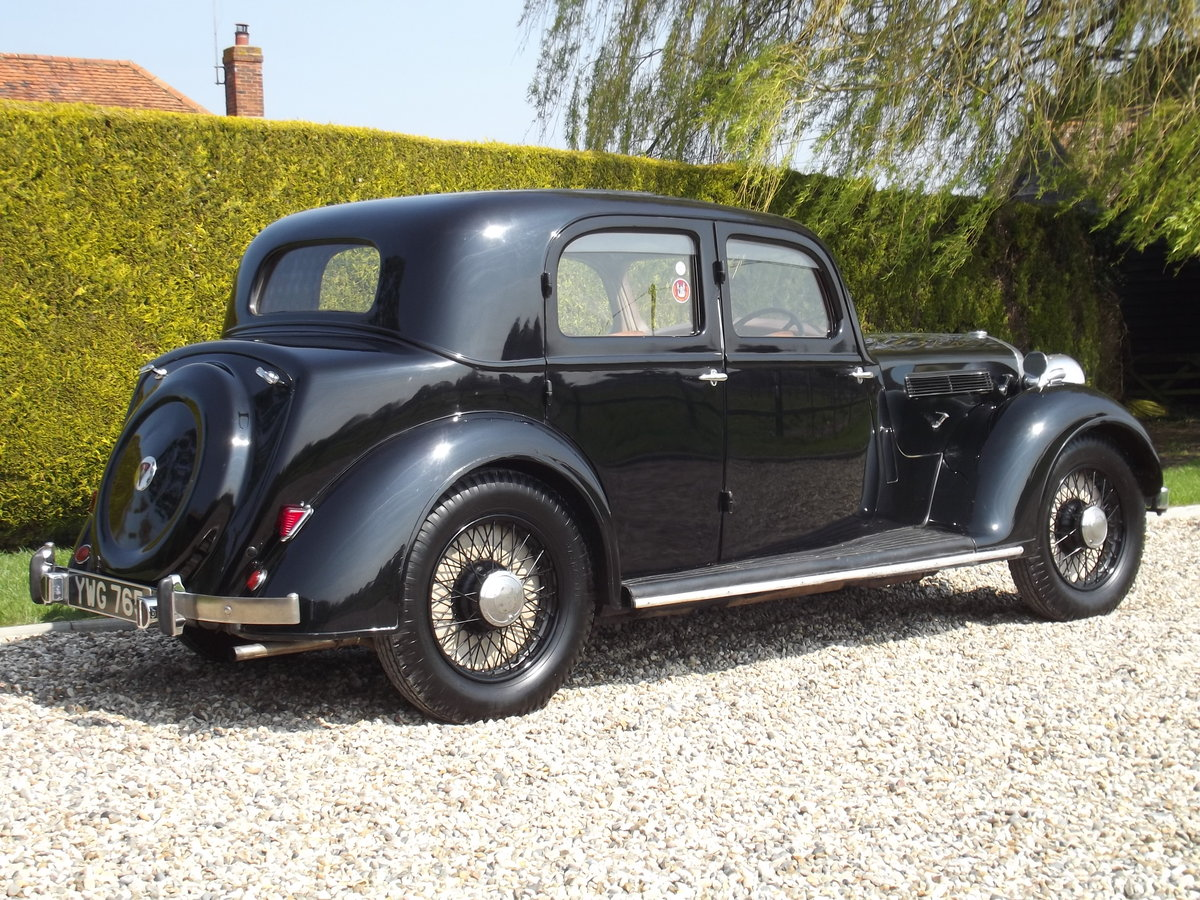 1937 Rover P2 12HP Sports Saloon For Sale (picture 3 of 6)