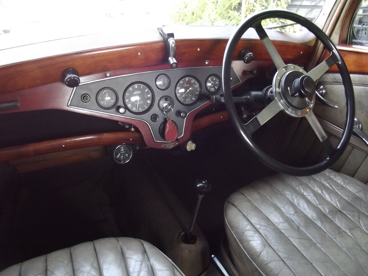 1937 Rover P2 12HP Sports Saloon For Sale (picture 5 of 6)