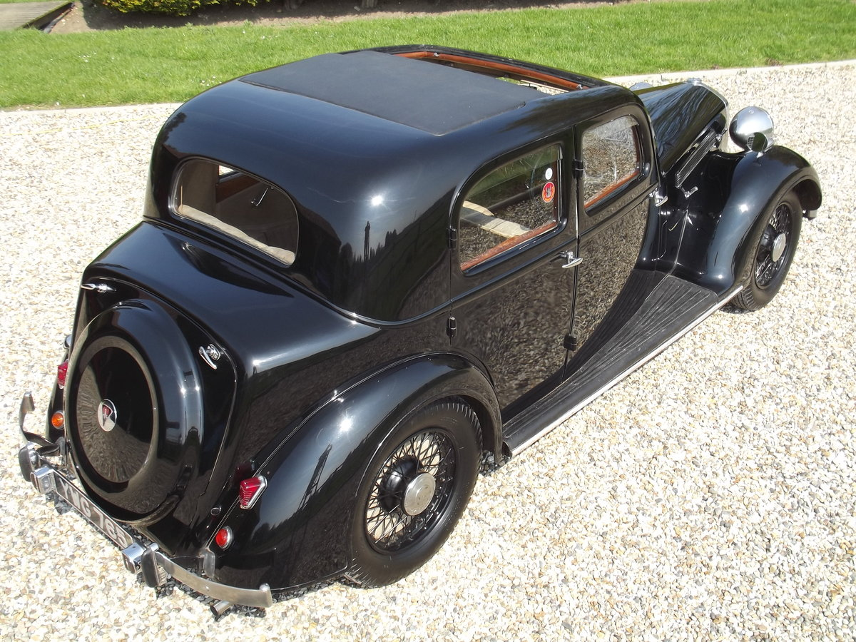 1937 Rover P2 12HP Sports Saloon For Sale (picture 6 of 6)