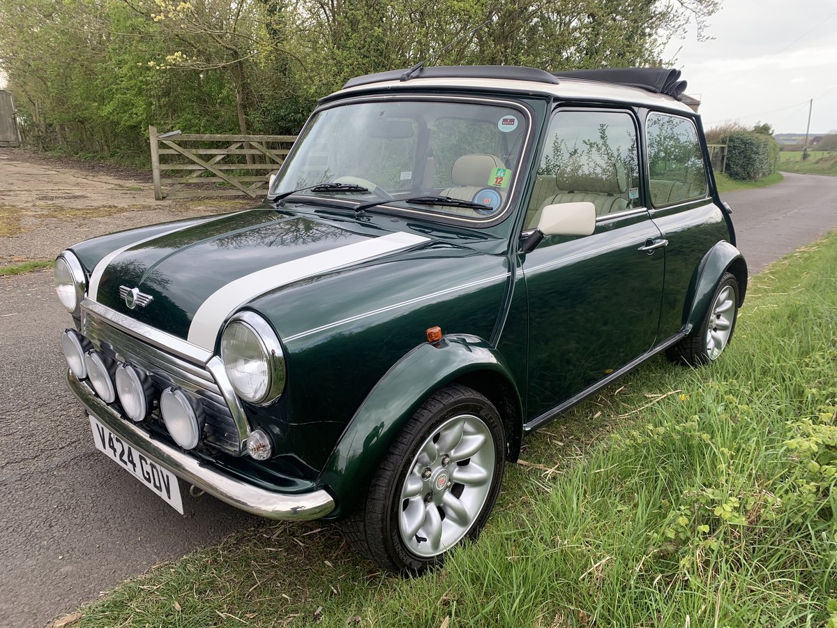 1998 Mini Cooper Sportpack - BRG, Leather, Webasto For Sale (picture 2 of 6)