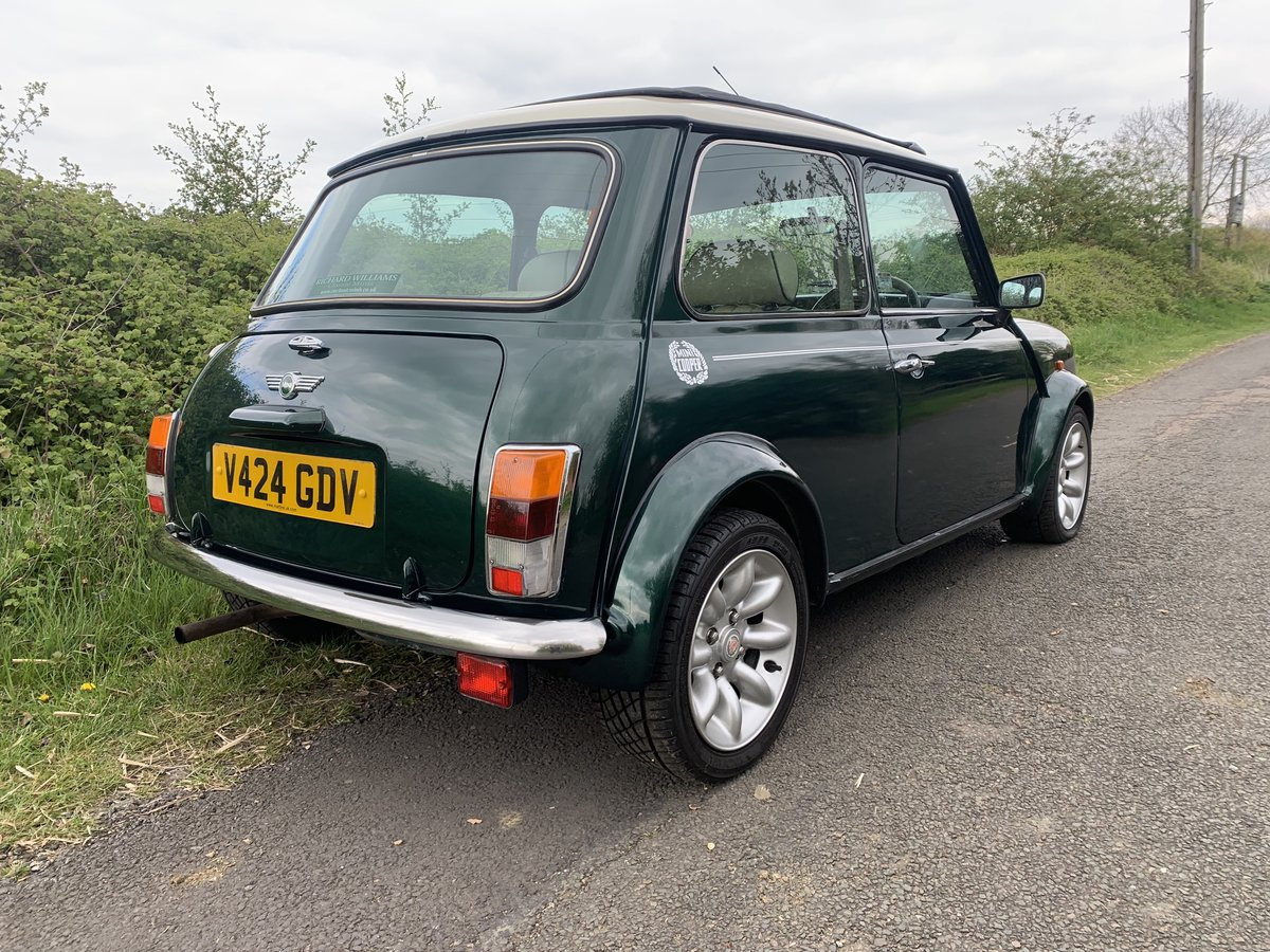 1998 Mini Cooper Sportpack - BRG, Leather, Webasto For Sale (picture 3 of 6)
