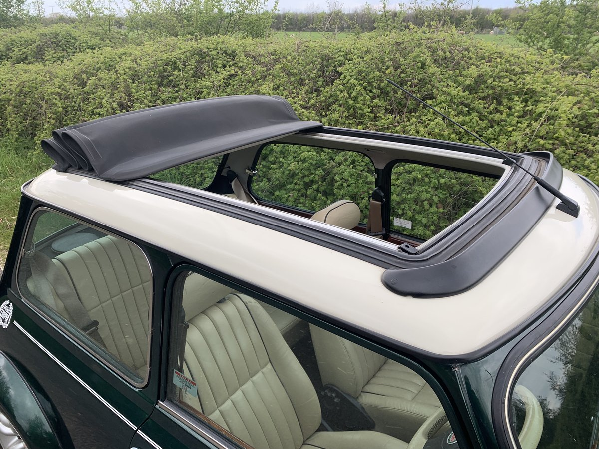 1998 Mini Cooper Sportpack - BRG, Leather, Webasto For Sale (picture 4 of 6)