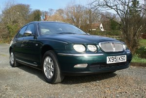 2001 Rover 75 2.0 V6. Early Cowley car. Genuine 40k For Sale