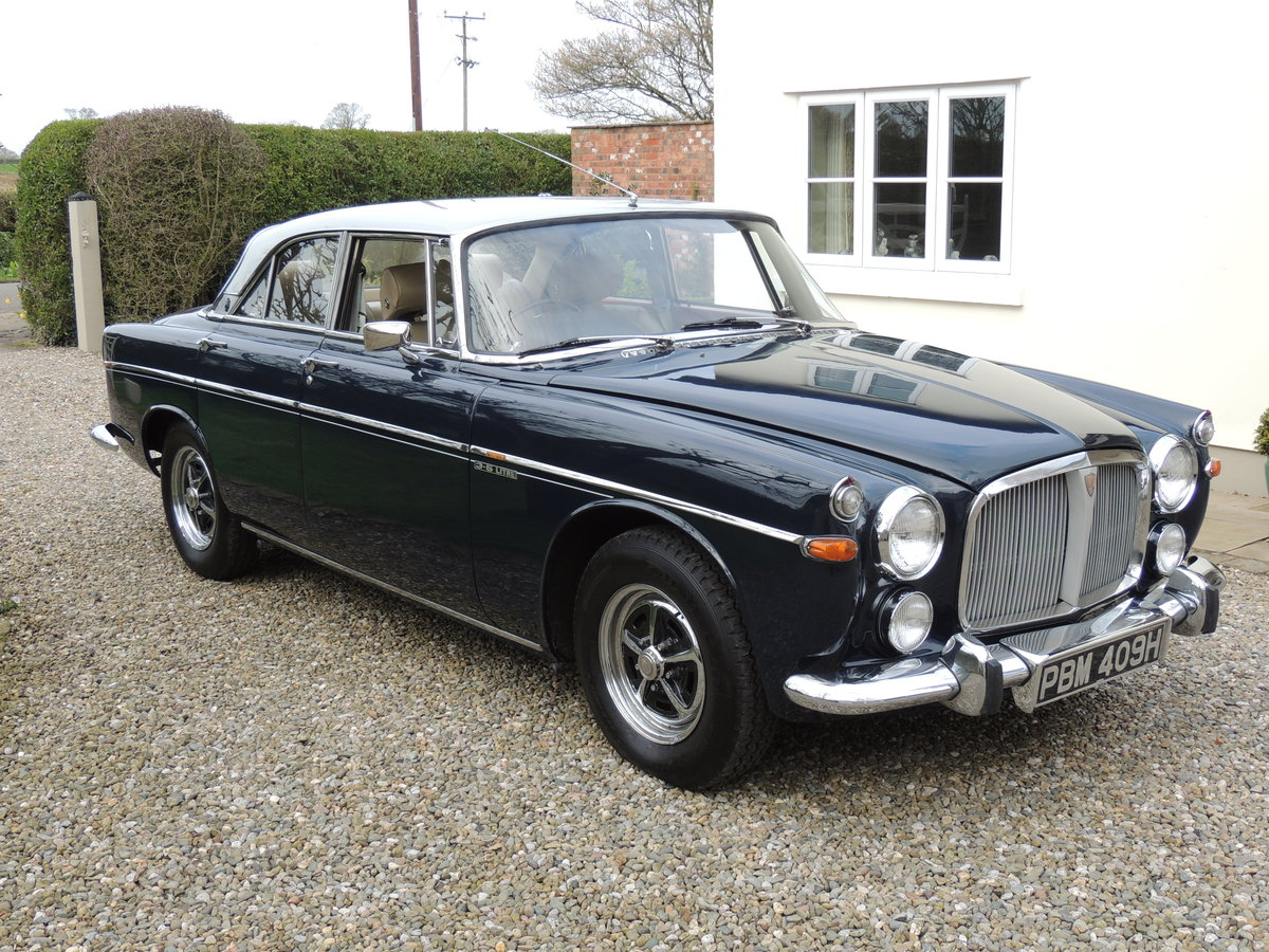 1969 Rover 3 1/2 Litre Coupe - P5B Coupe SOLD (picture 1 of 6)