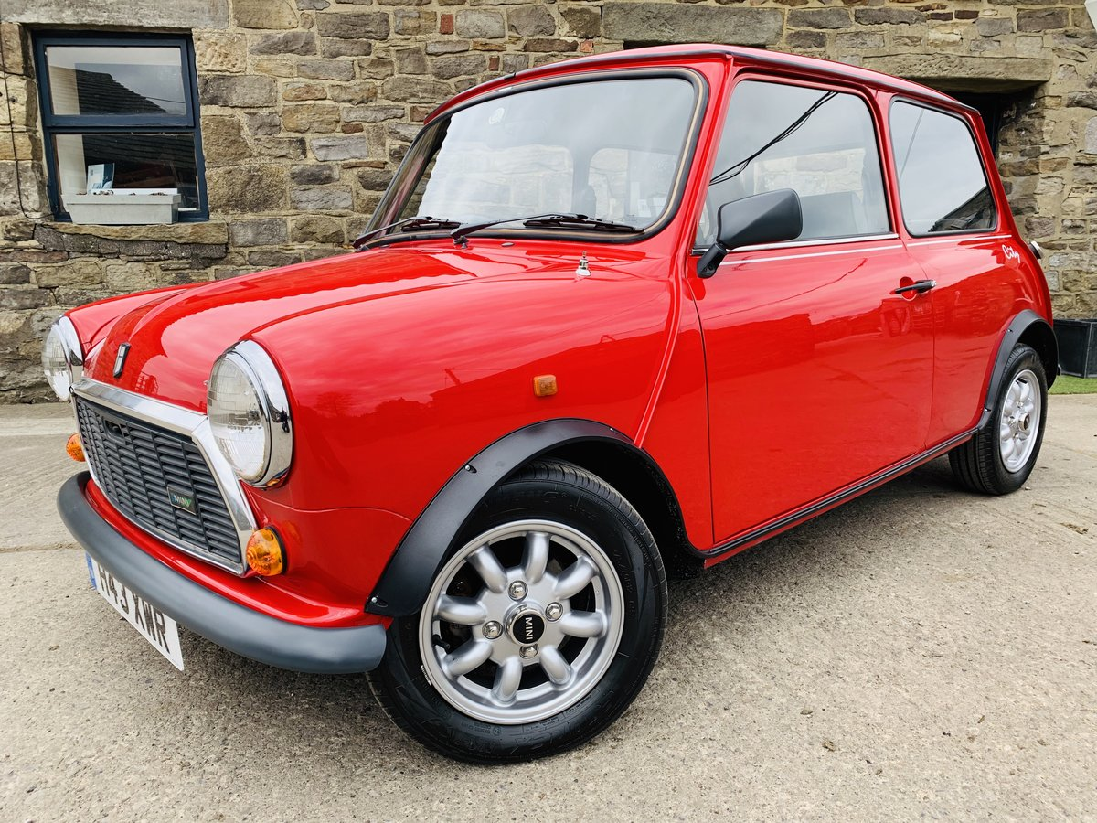 1990 ROVER MINI CITY E,AUTOMATIC,ONLY 15K MILES,RARE! For Sale (picture 1 of 6)