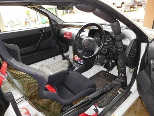 1992 Ex - Works Rover Factory Tom Cat 220 Turbo Coupe  For Sale (picture 3 of 6)