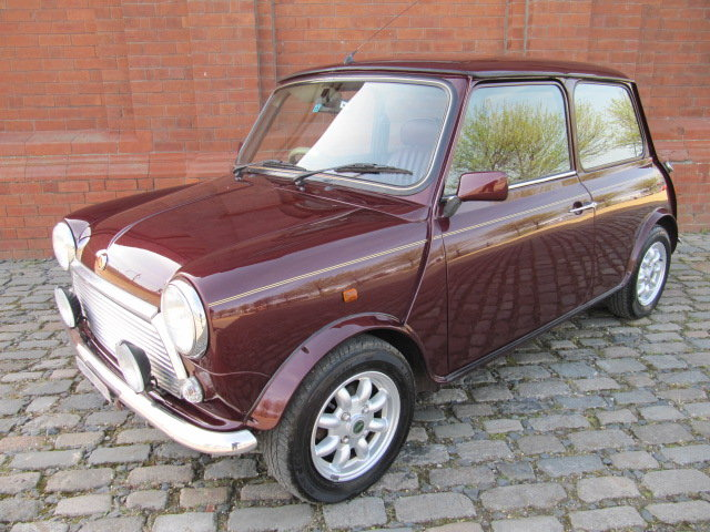 1999 ROVER MINI COOPER 40TH ANNIVERSARY EDITION IN MULBERRY *  SOLD (picture 1 of 6)