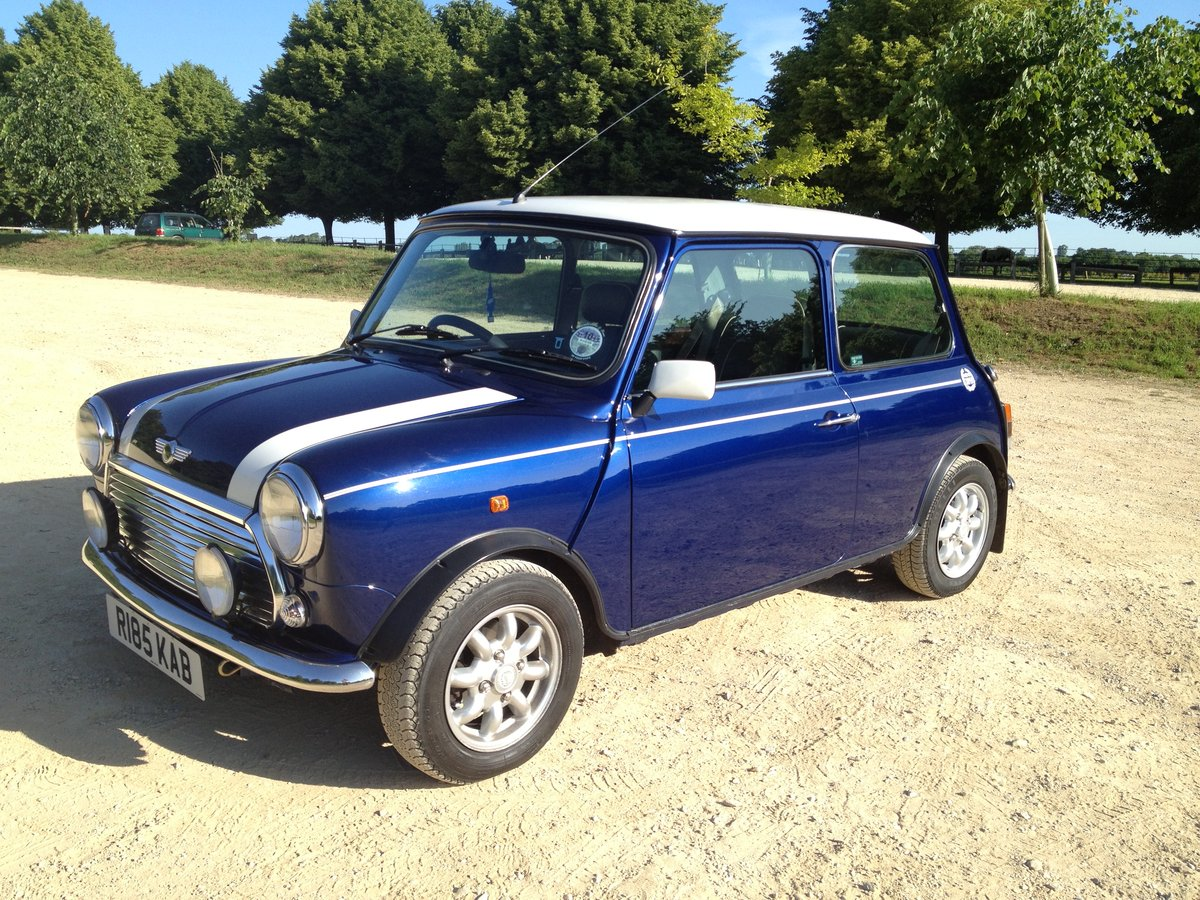 1997 Mini Cooper With Only 12,500 Miles For Sale (picture 2 of 6)
