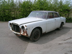 1967 Rover P5 3 Litre Coupe Manual Historic Restoration Project For Sale