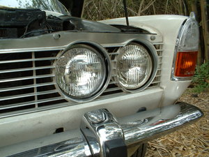 Picture of 1968 original California car - unrestored, rare in USA