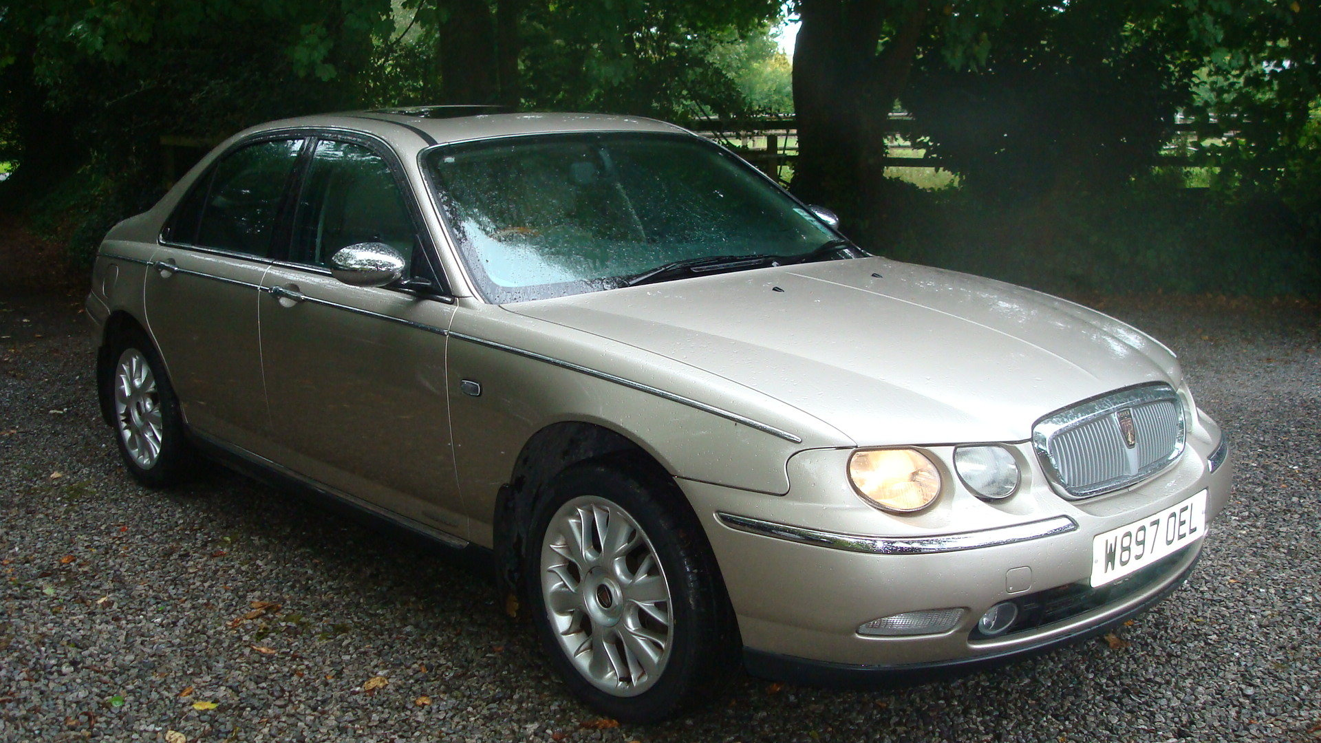 2000 Rover 75 2.5 V6 Connoisseur SE For Sale (picture 2 of 6)