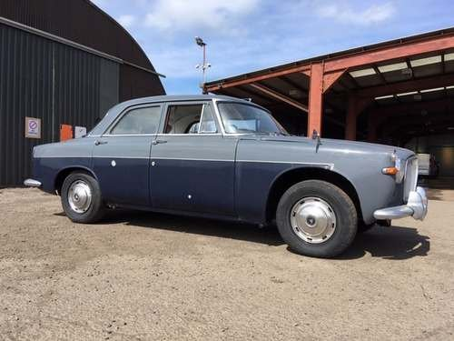 1962 Rover 3 Litre at Morris Leslie Classic Auction 25th May SOLD by Auction (picture 2 of 6)